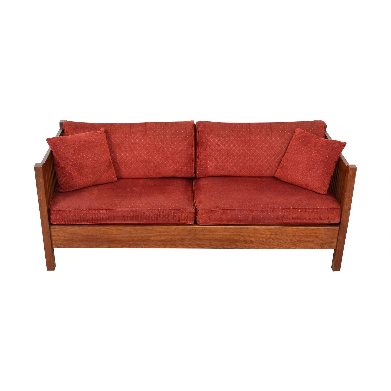 Stickley Furniture Stickley Prairie Settie Sofa