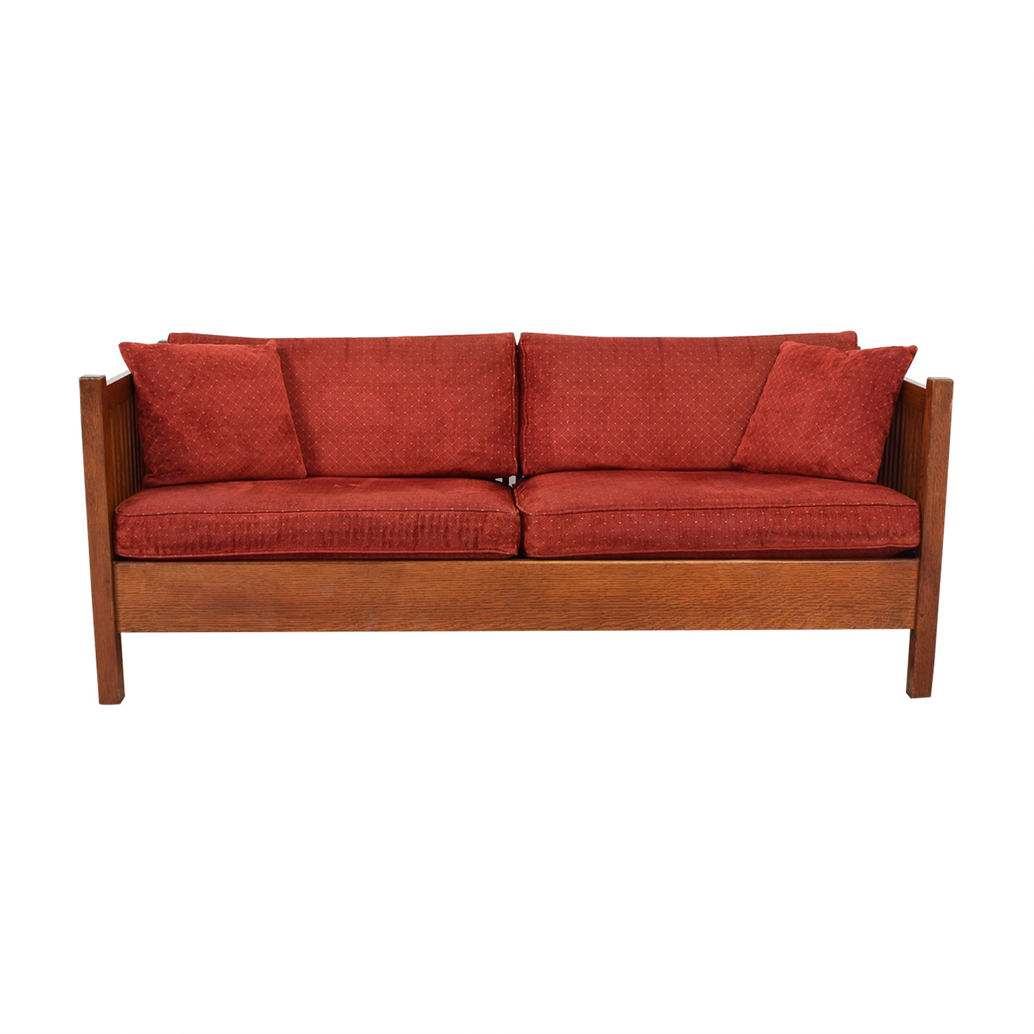 shop Stickley Prairie Settie Sofa Stickley Furniture Classic Sofas