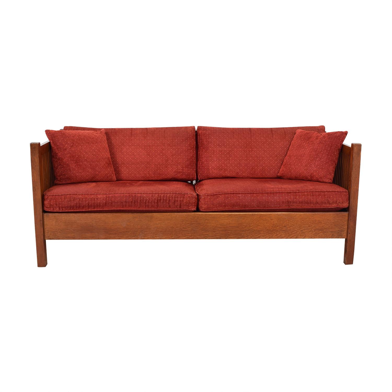 shop Stickley Prairie Settie Sofa Stickley Furniture