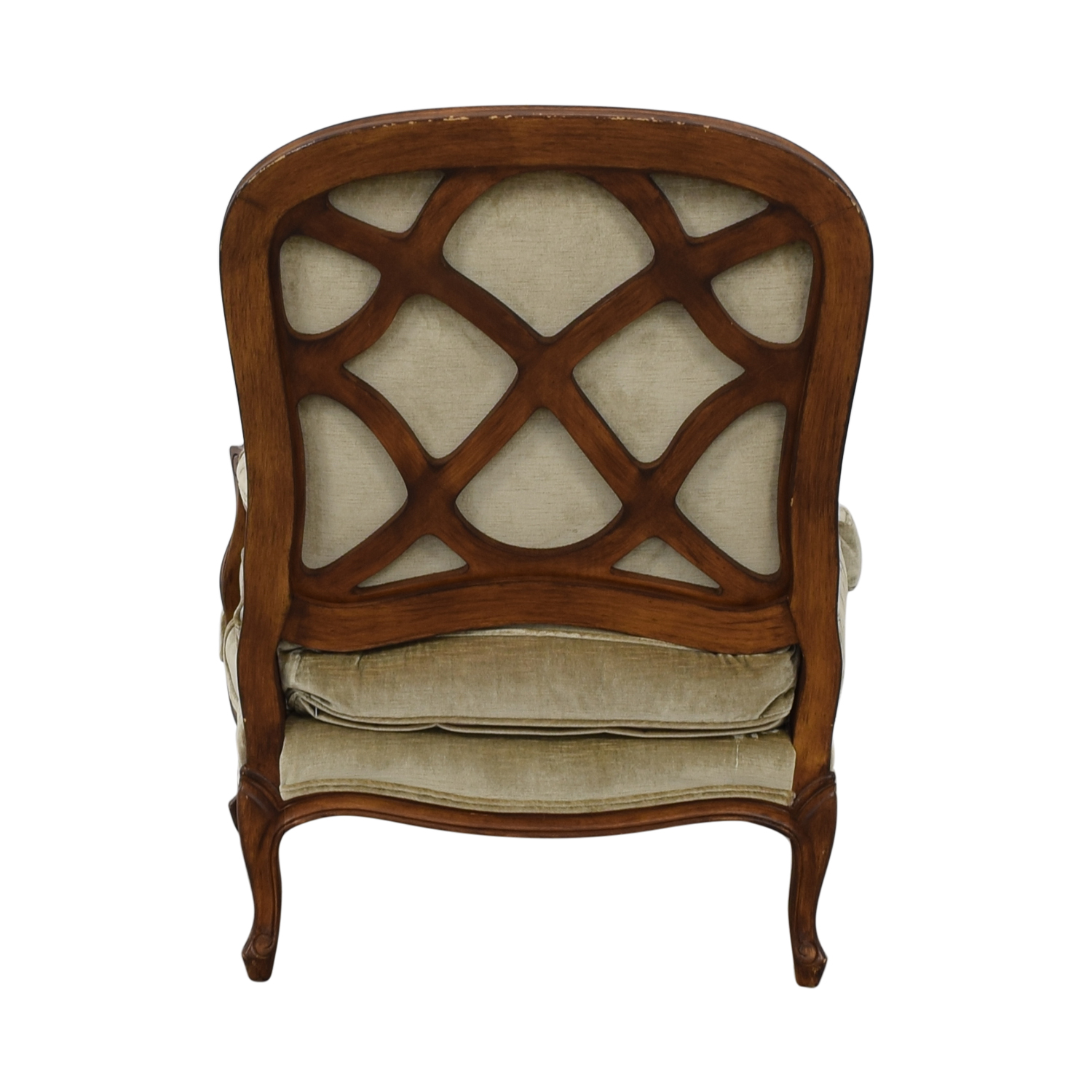 Drexel Heritage Drexel Heritage Country French Accent Chair green and brown