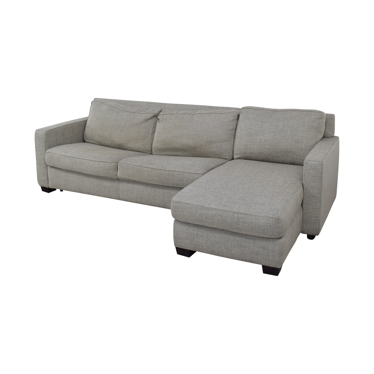 West Elm West Elm Henry Sectional Sleeper Sofa second hand