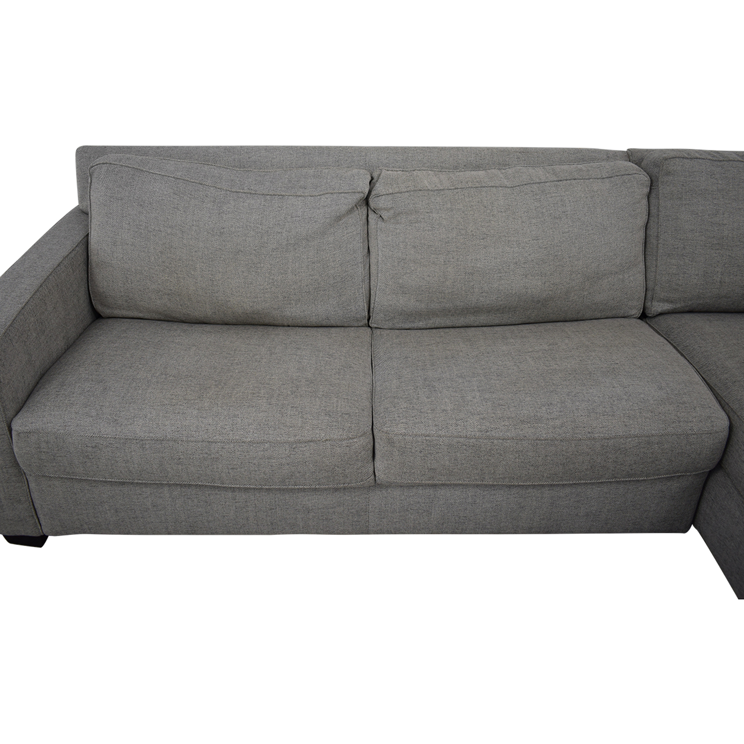 West Elm West Elm Henry Sectional Sleeper Sofa dimensions