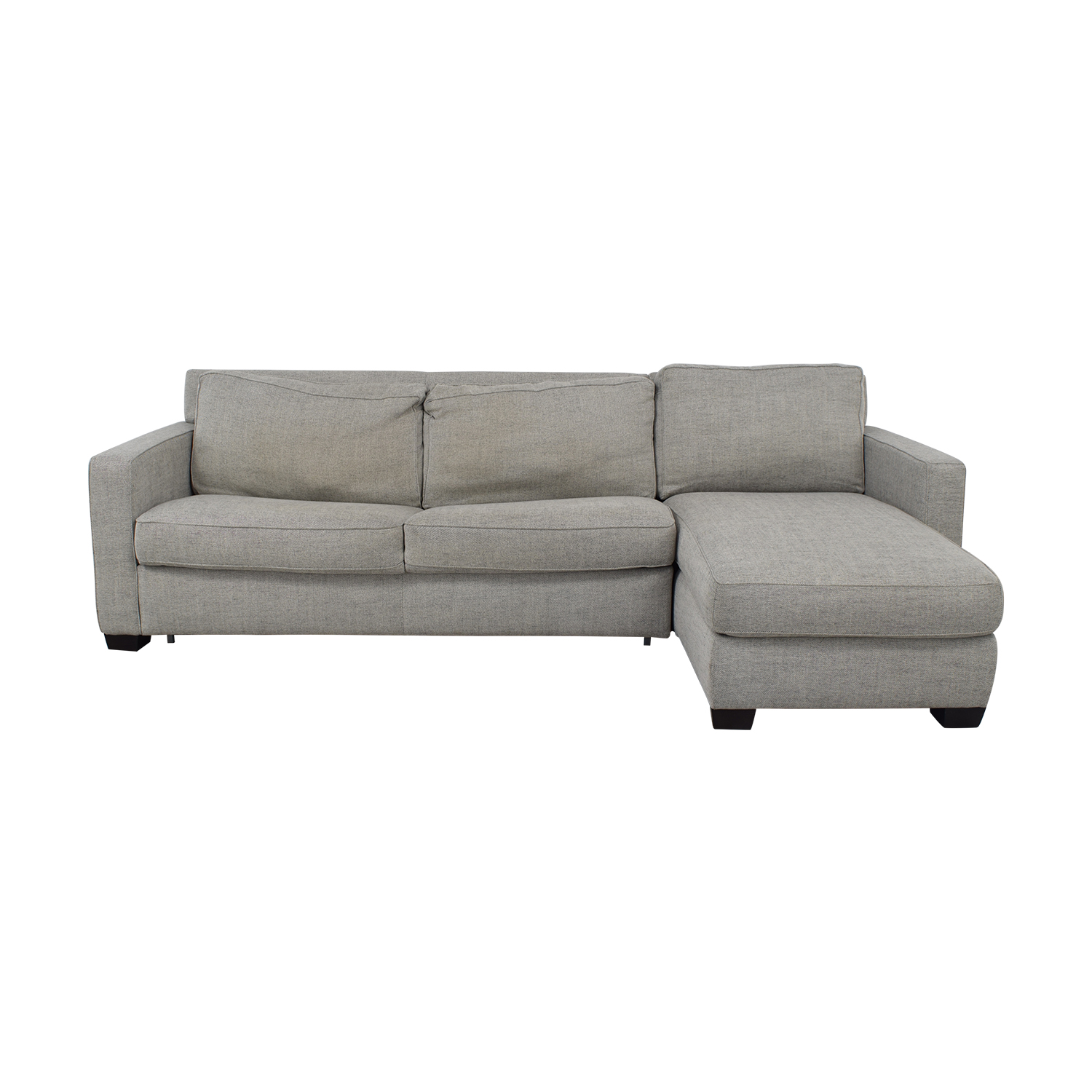 West Elm West Elm Henry Sectional Sleeper Sofa discount