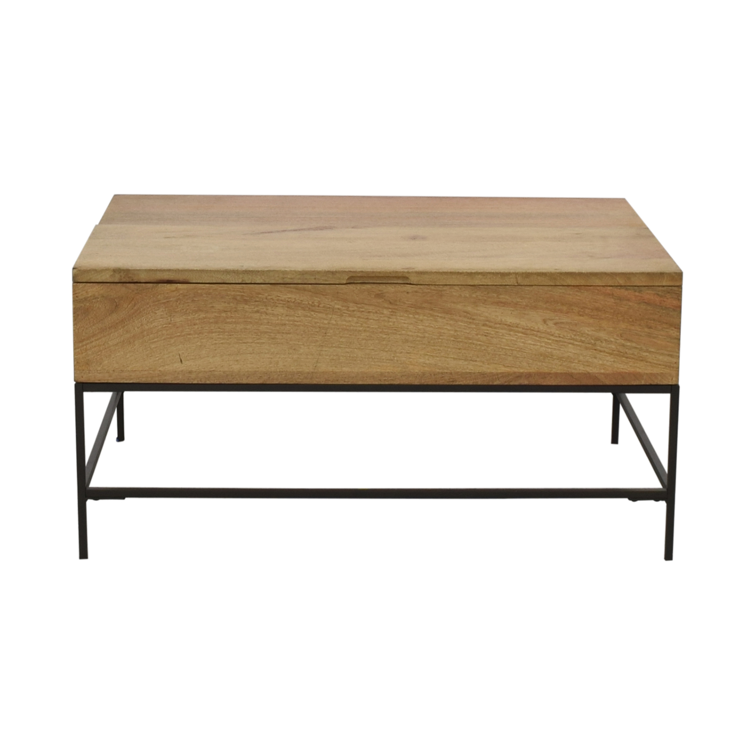 shop West Elm West Elm Industrial Storage Coffee Table online