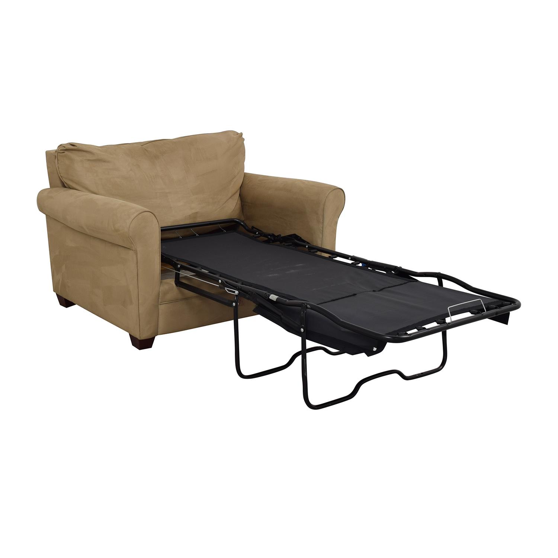 Lane Furniture Sleeper Chair & Ottoman Lane Furniture