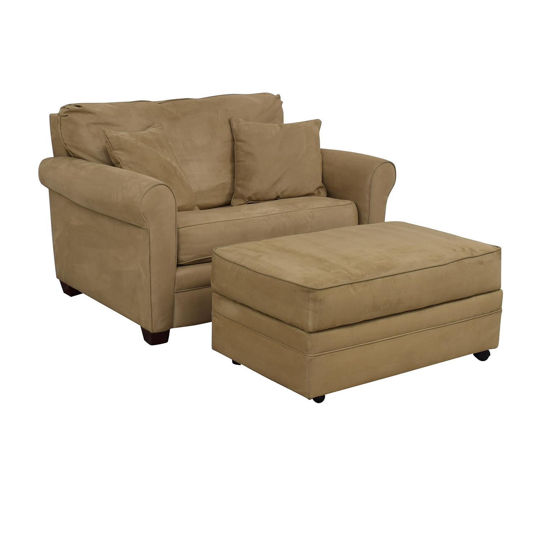 buy Lane Furniture Sleeper Chair & Ottoman Lane Furniture Chairs
