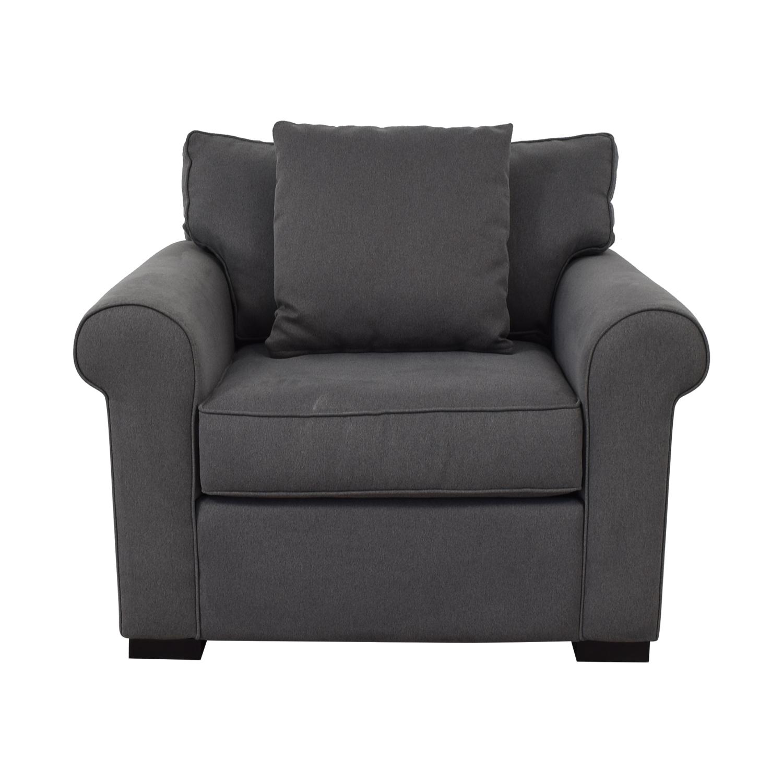 Macy's Macy's Astra Fabric Armchair nyc