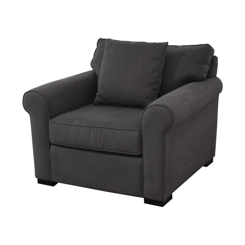 Macy's Macy's Astra Fabric Armchair second hand