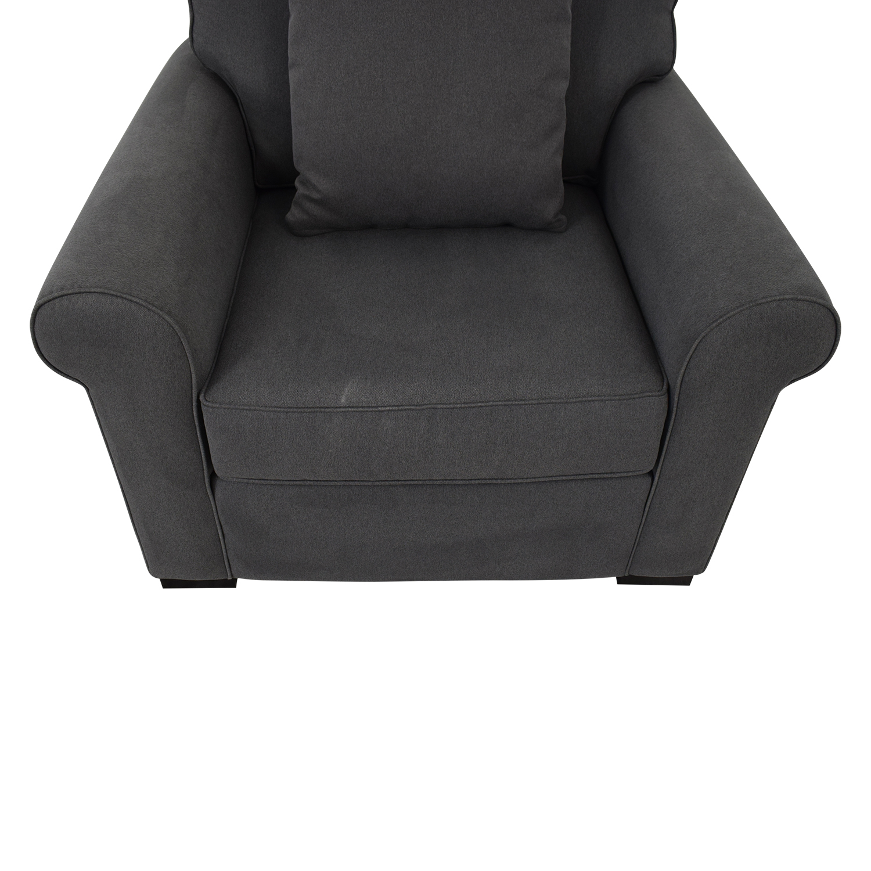 Macy's Astra Fabric Armchair sale