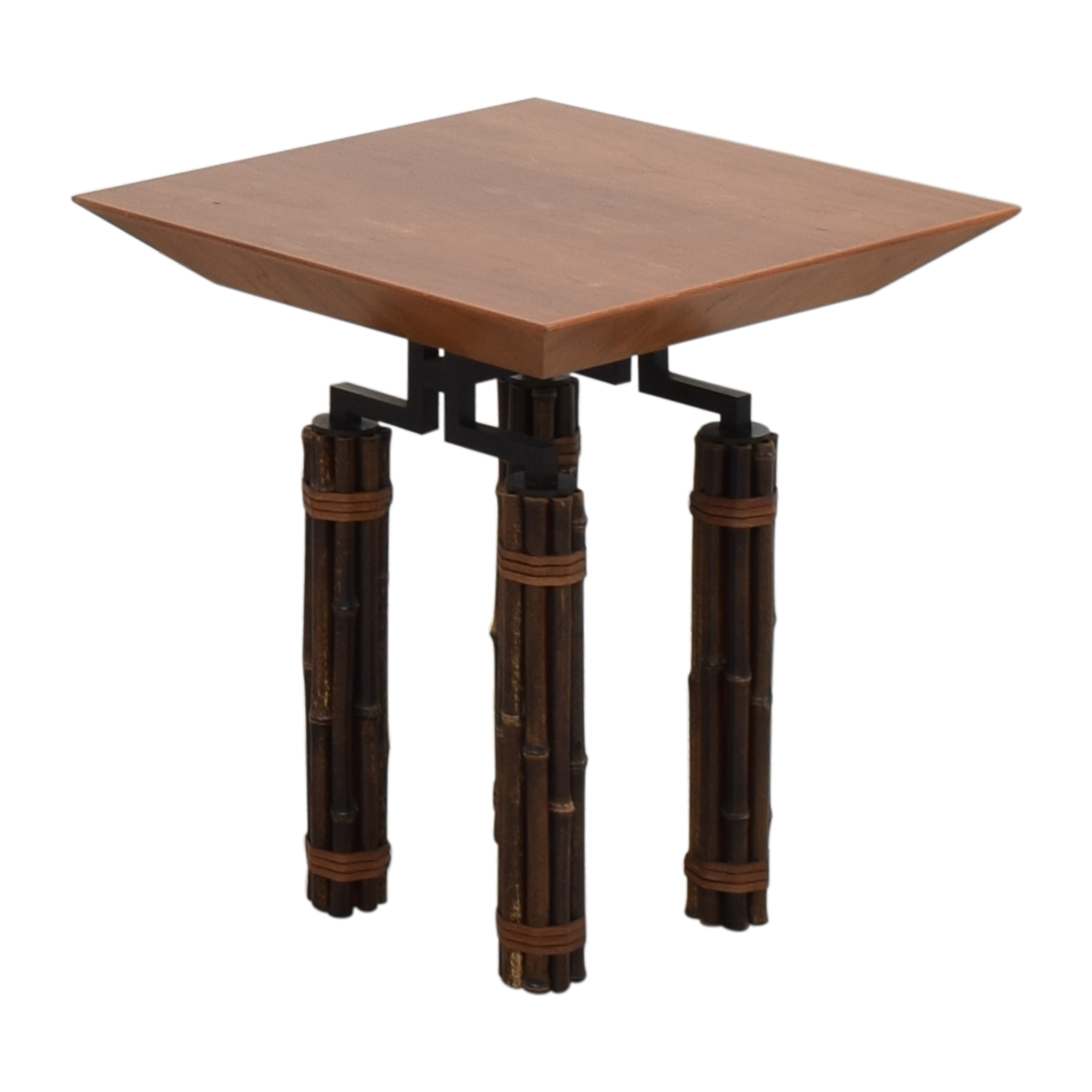 McGuire McGuire Huxley Martini Side Table on sale