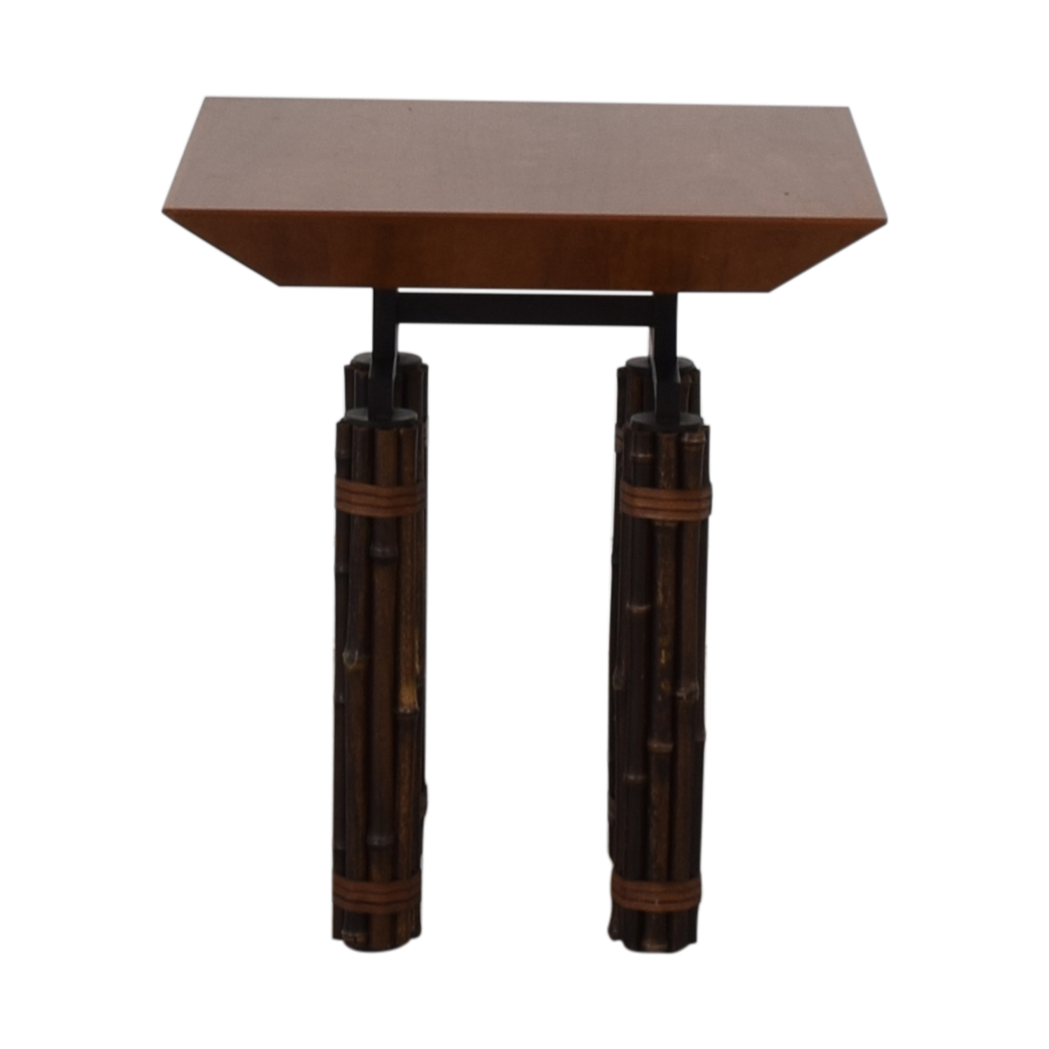 shop McGuire Huxley Martini Side Table McGuire Tables