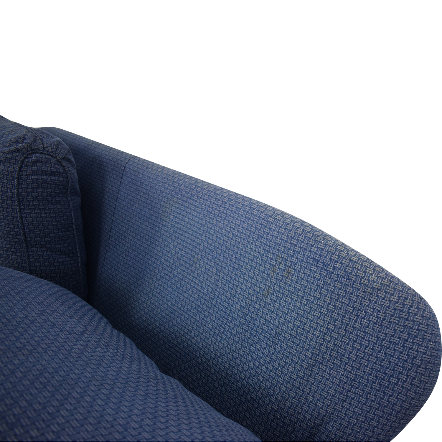 Calico Calico Classic Home Recessed Panel Arm Blue Down-Filled Sofa price