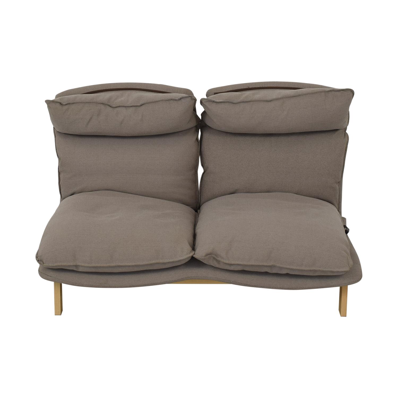 Muji Muji High Back Reclining Sofa discount