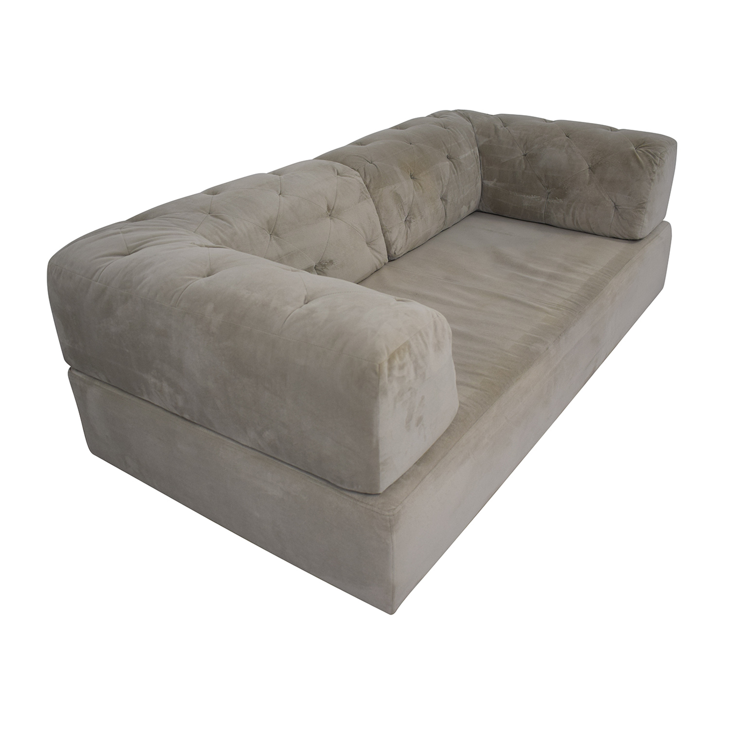 West Elm West Elm Tillary Tufted Sofa with Two Corner Cushions used