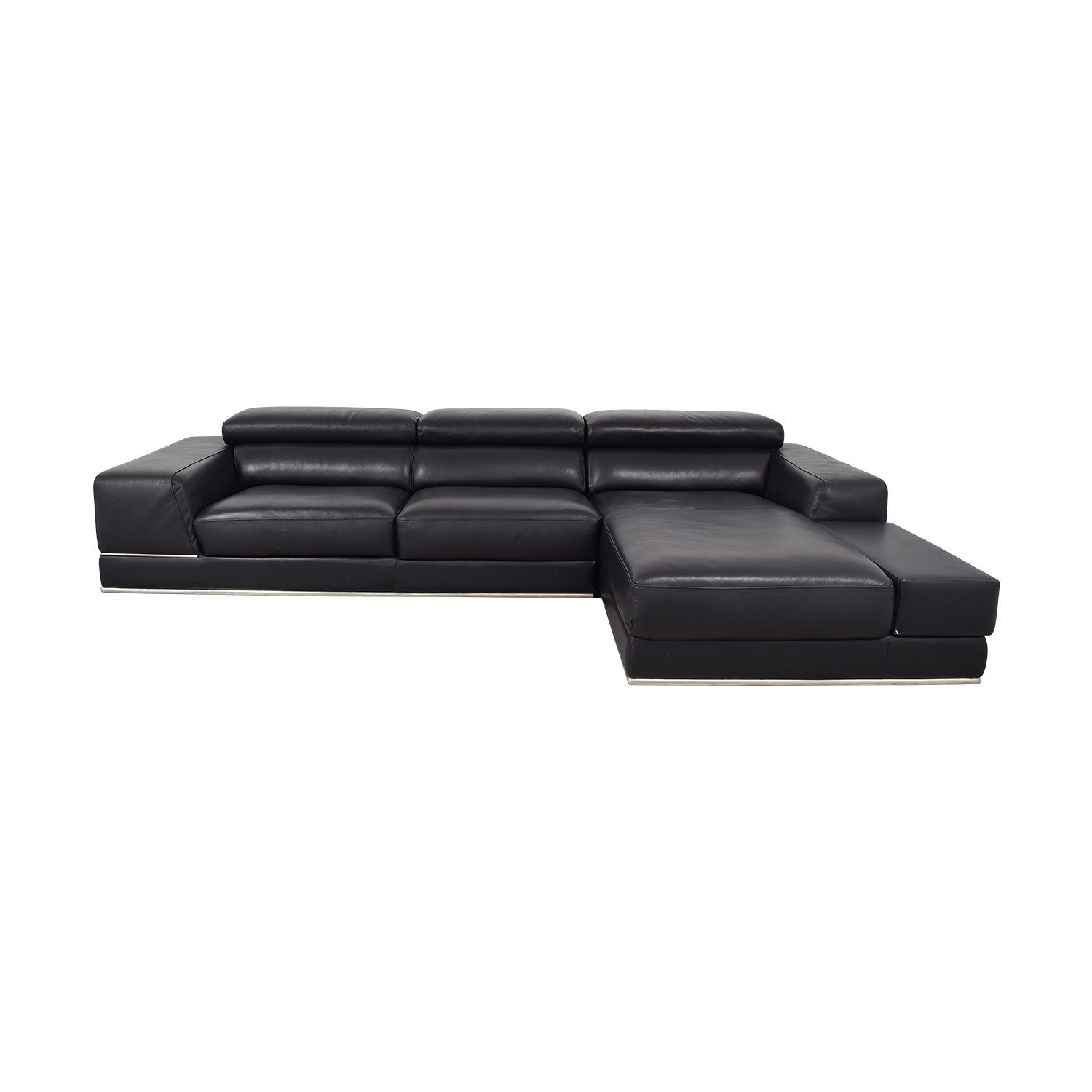 Miraculous 72 Off Modani Modani Bergamo Right Sectional Sofa Sofas Uwap Interior Chair Design Uwaporg
