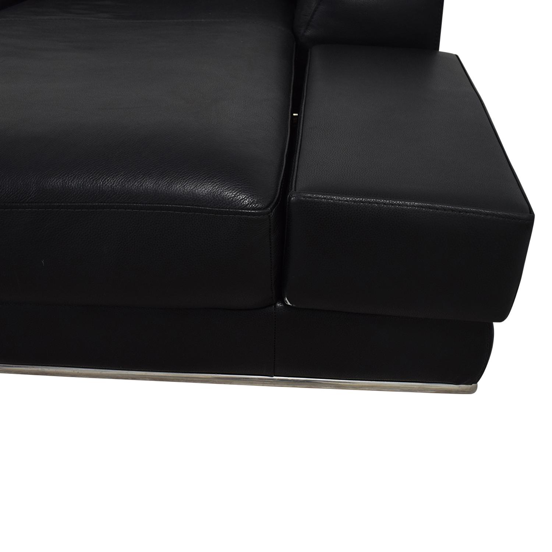 Remarkable 72 Off Modani Modani Bergamo Right Sectional Sofa Sofas Evergreenethics Interior Chair Design Evergreenethicsorg