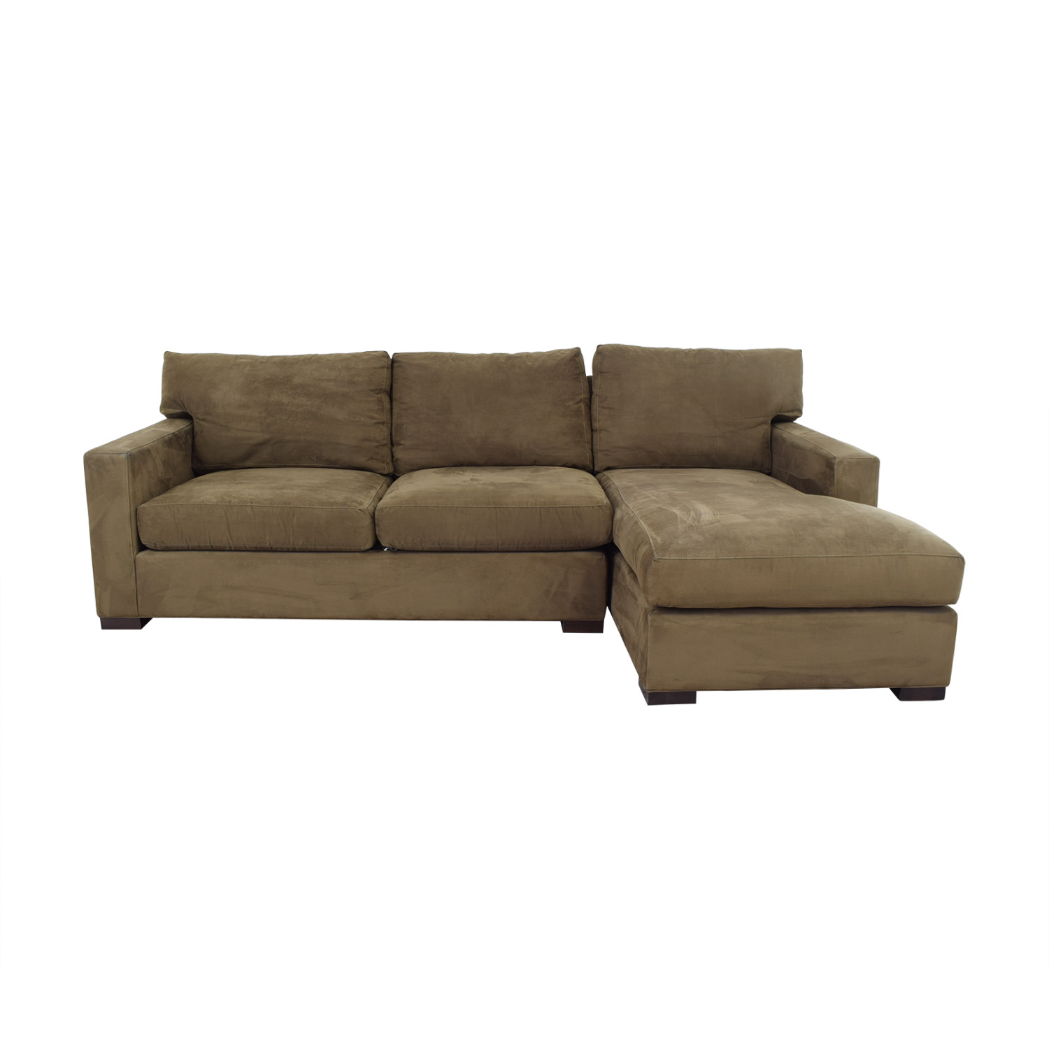 shop Crate & Barrel Sectional Sofa with Chaise Crate & Barrel Sofas