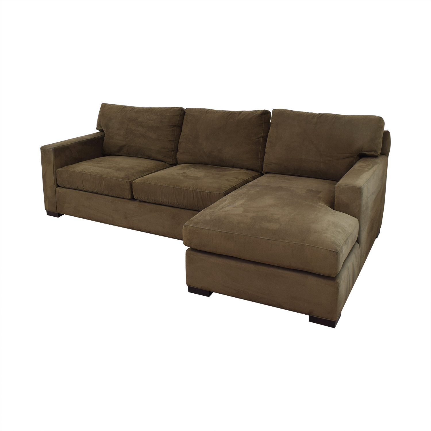 buy Crate & Barrel Sectional Sofa with Chaise Crate & Barrel Sofas
