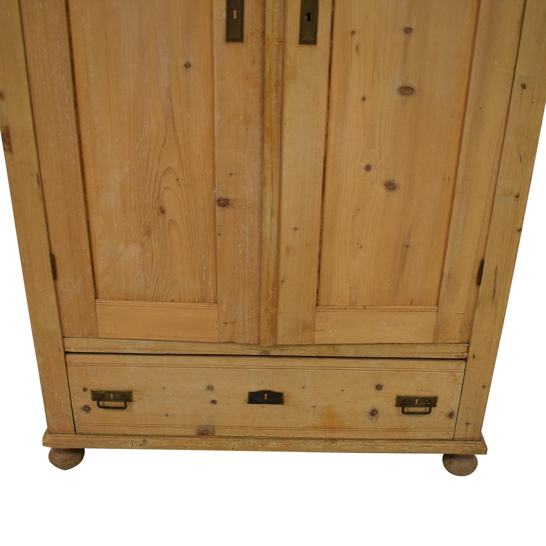 shop ABC Carpet & Home Antique Pine Armoire ABC Carpet & Home Storage