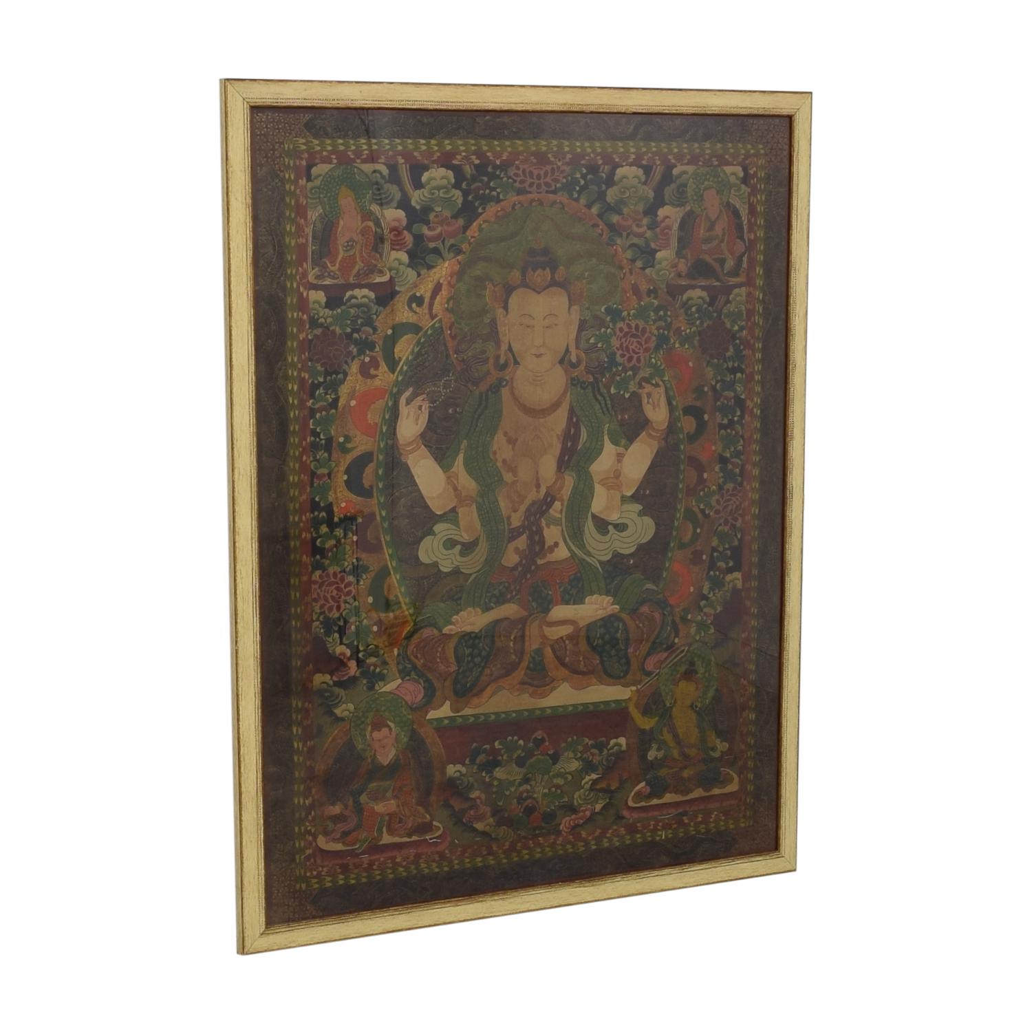 Framed Thangka Wall Art for sale
