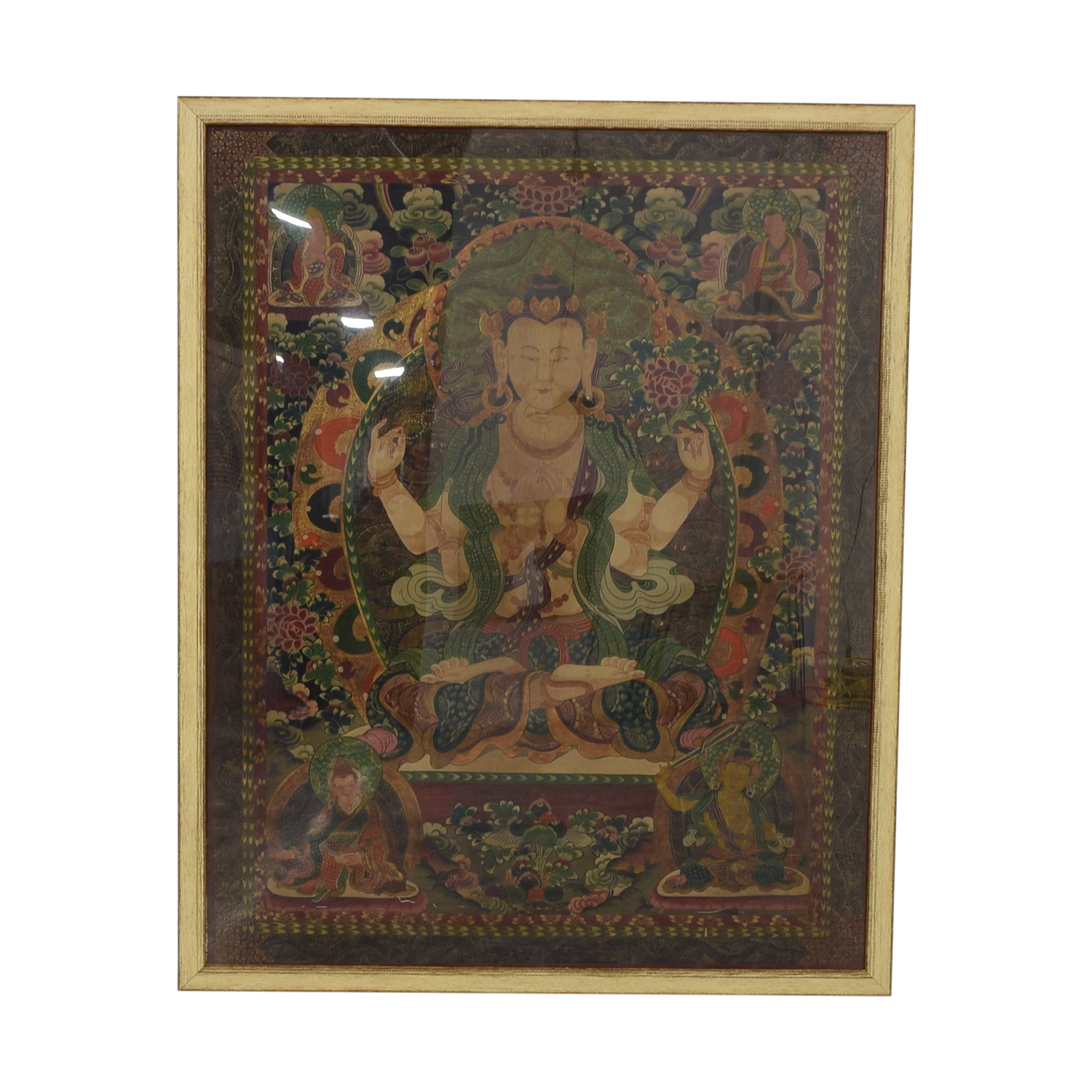 Framed Thangka Wall Art / Decor