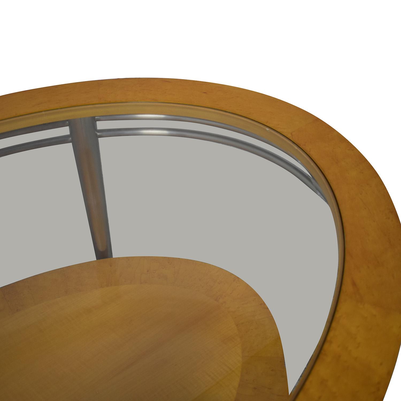 Bernhardt Bernhardt Wooden Oval Coffee Table coupon
