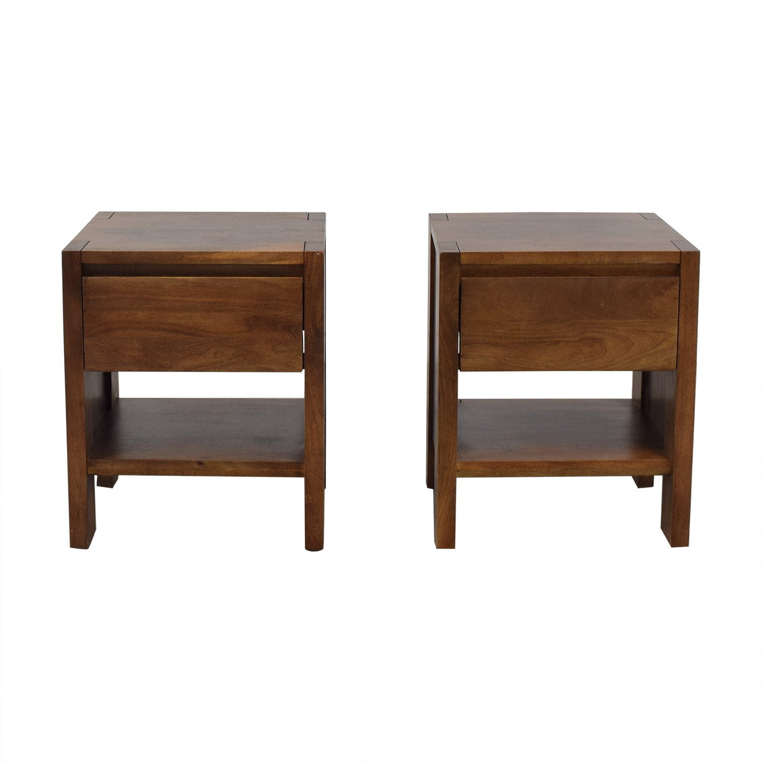 Crate & Barrel Nightstands / End Tables