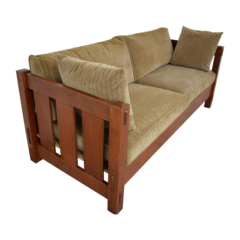 Stickley Furniture Stickley Furniture Mission Settle Sofa nyc