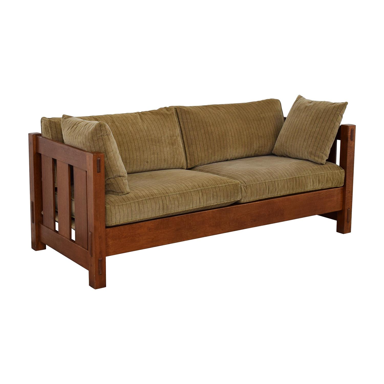 Stickley Furniture Stickley Furniture Mission Settle Sofa on sale