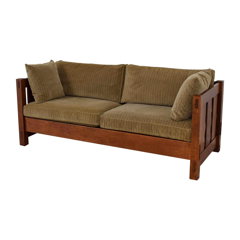 Stickley Furniture Stickley Furniture Mission Settle Sofa for sale