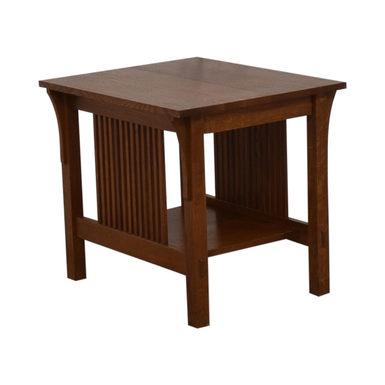 shop Stickley Furniture Stickley Mission End Table online