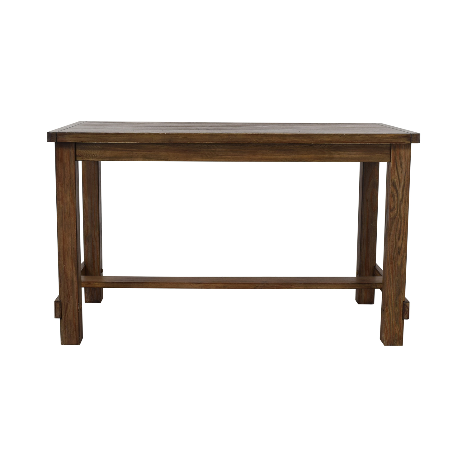 Ashley Furniture Ashley Furniture Wooden Counter Height Kitchen Table brown