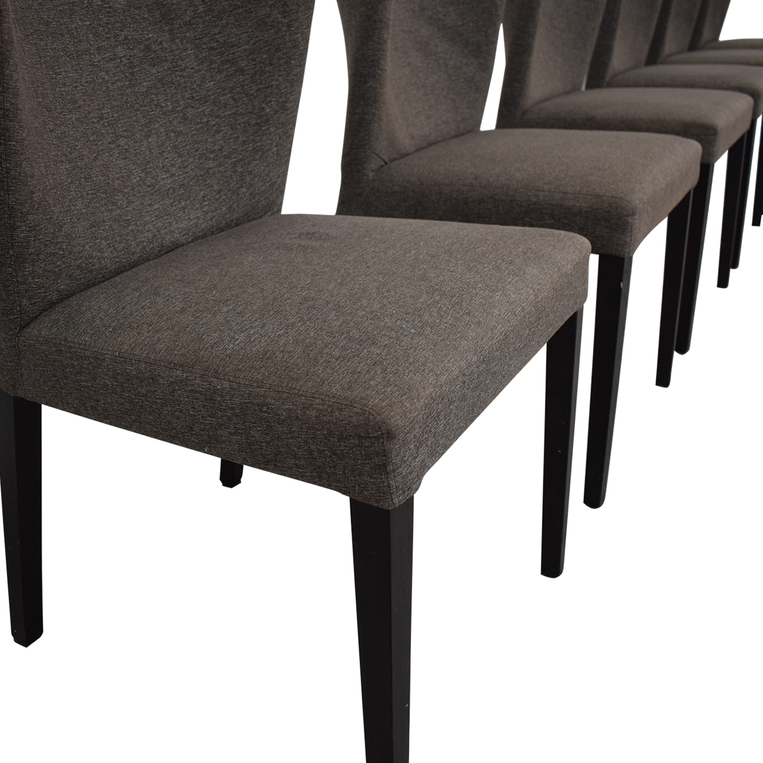 Heal's of London Heals of London Habitat Grey Upholstered Dining Chairs second hand