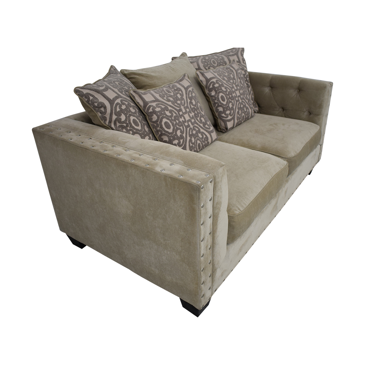 buy Cindy Crawford Home Calista Microfiber Loveseat Cindy Crawford Home Loveseats