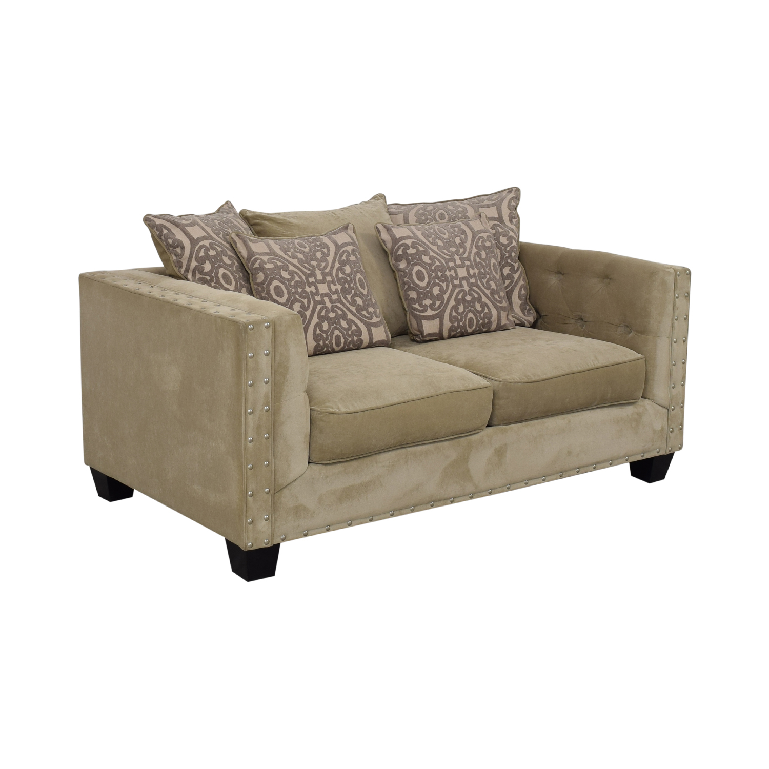 Cindy Crawford Home Calista Microfiber Loveseat / Sofas