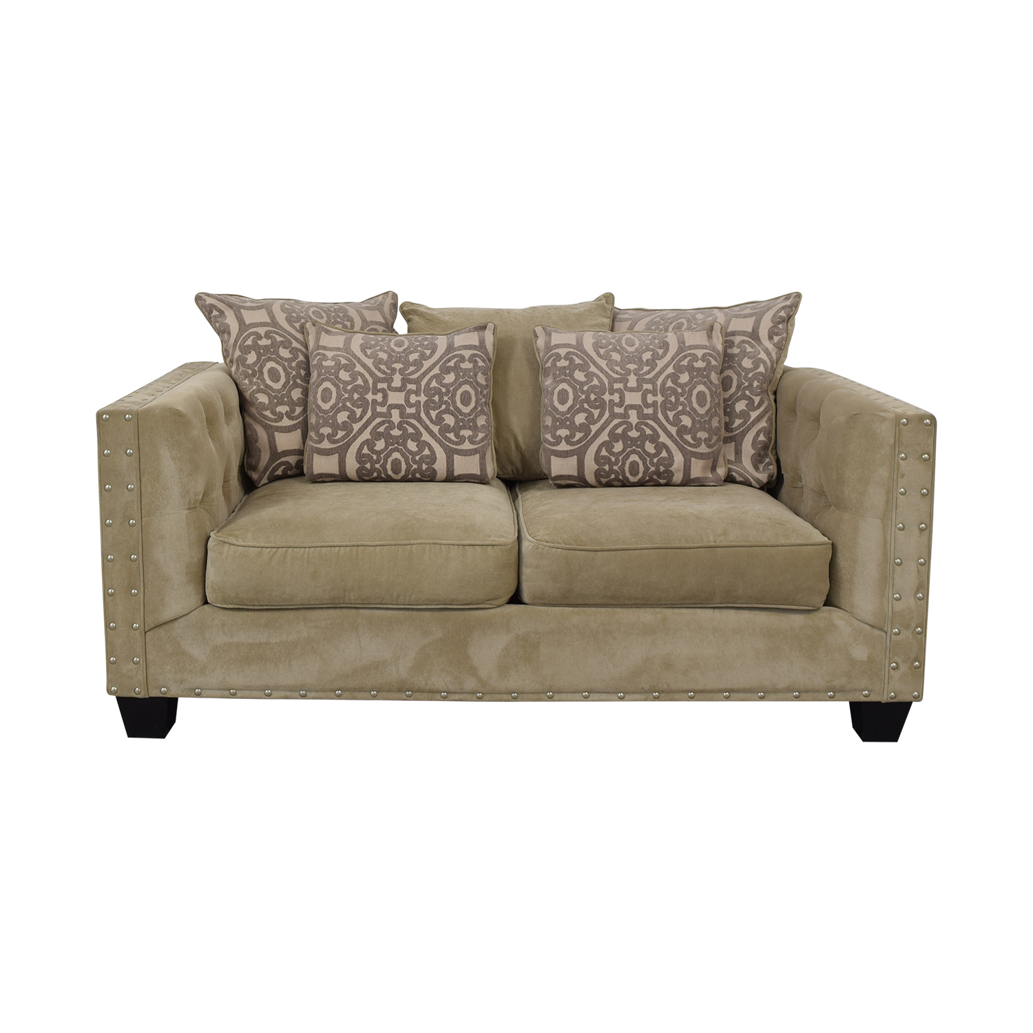 Cindy Crawford Home Cindy Crawford Home Calista Microfiber Loveseat on sale