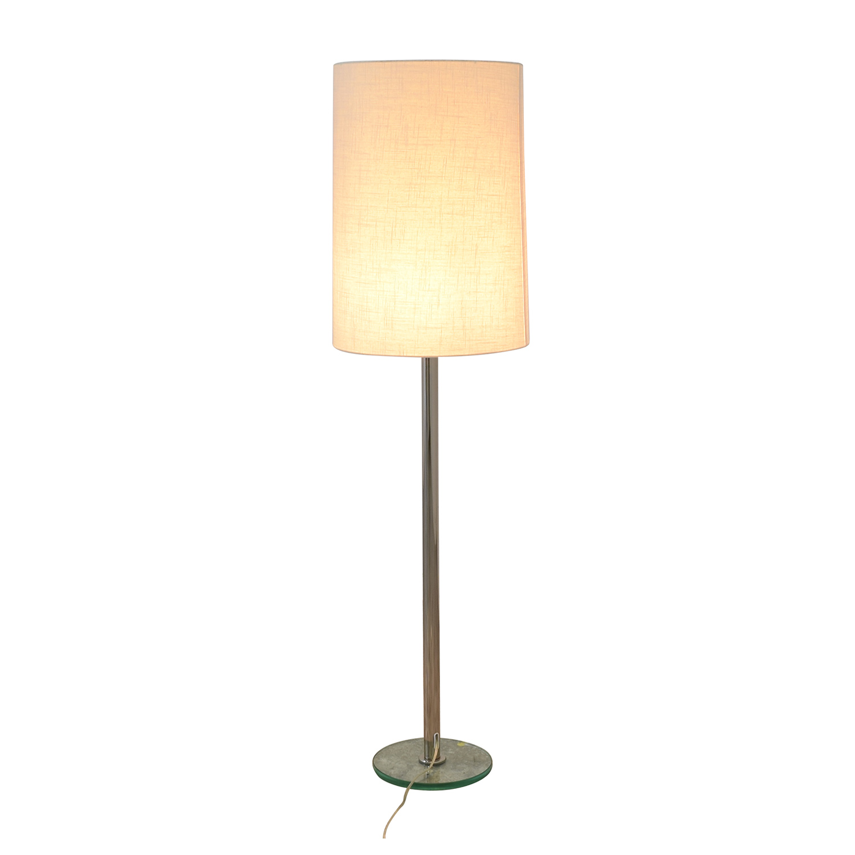 Crate & Barrel Crate & Barrel Cylinder Floor Lamp used