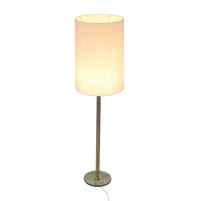 Crate & Barrel Crate & Barrel Cylinder Floor Lamp coupon