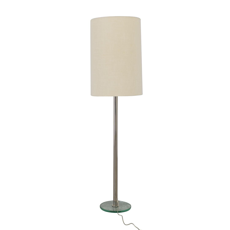 Crate & Barrel Crate & Barrel Cylinder Floor Lamp
