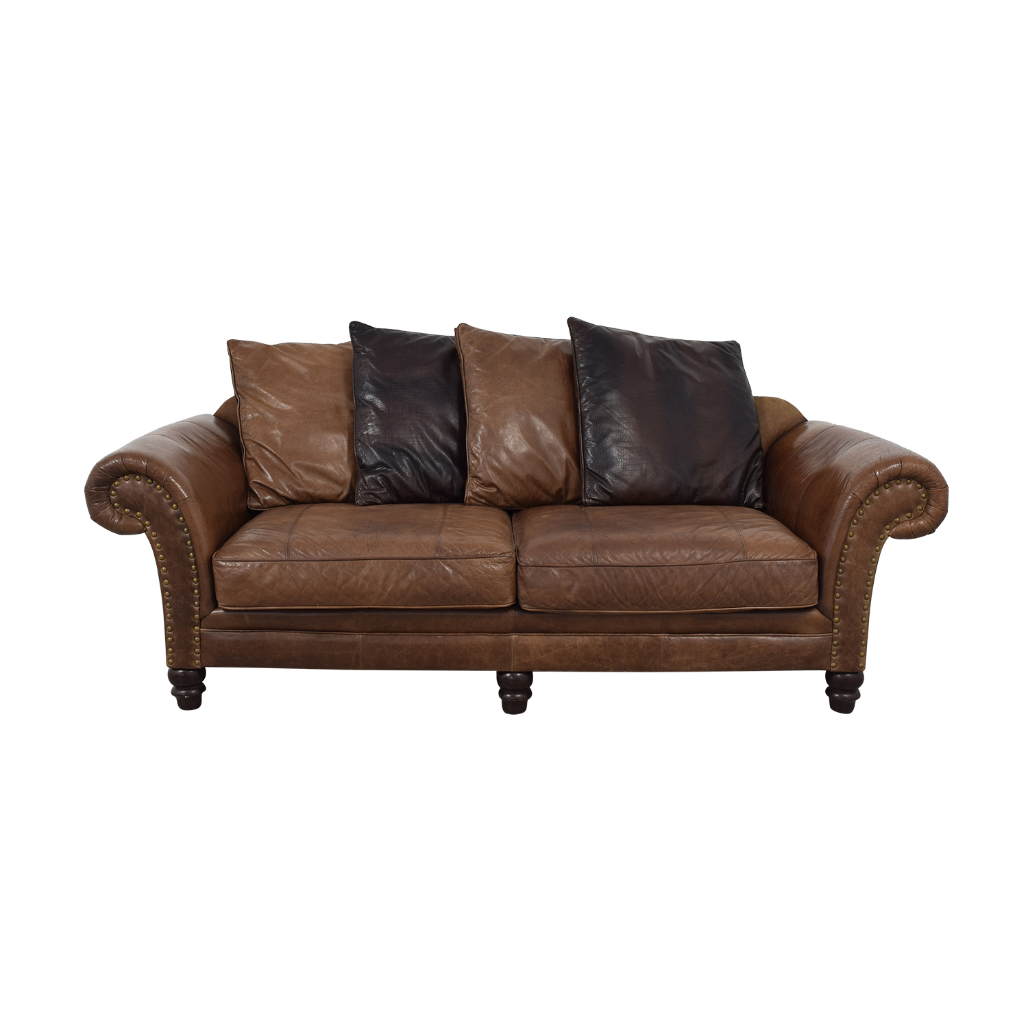 87 Off Bernhardt Bernhardt Leather Sofa Sofas