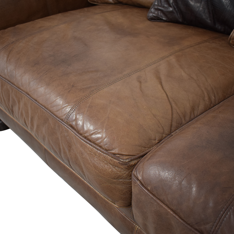 Bernhardt Leather Sofa / Classic Sofas