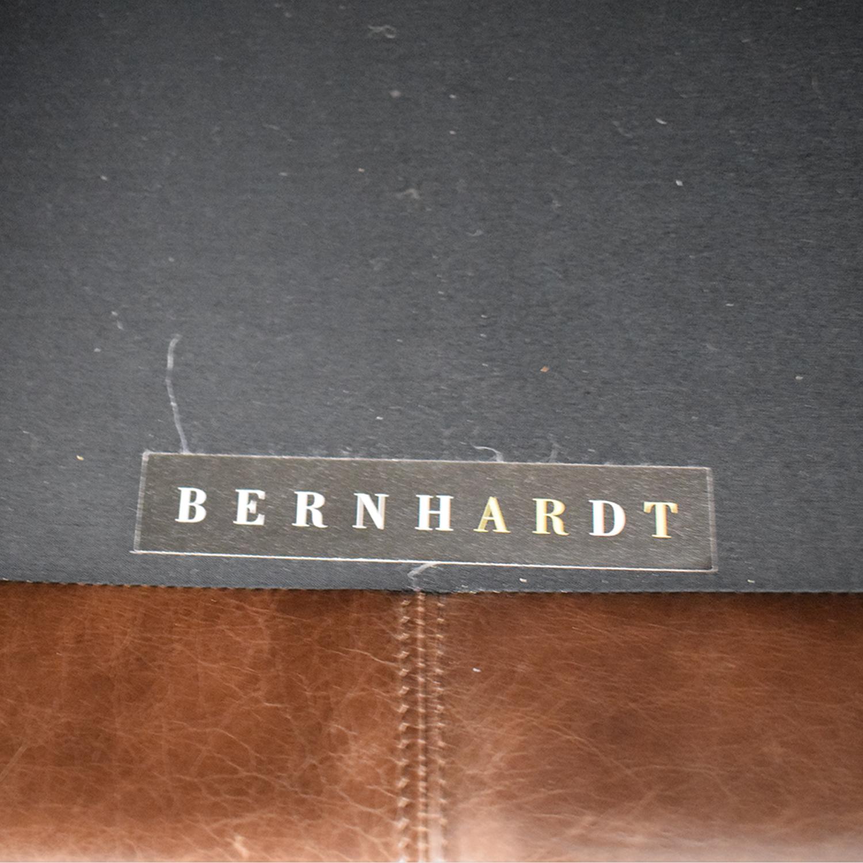 buy Bernhardt Leather Sofa Bernhardt