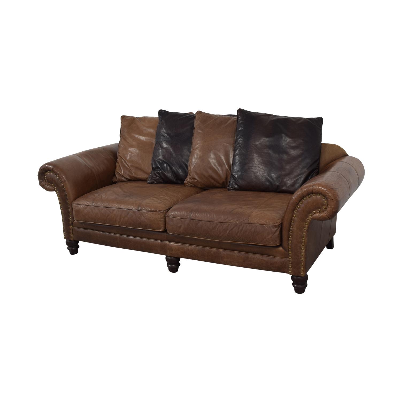 Bernhardt Bernhardt Leather Sofa on sale
