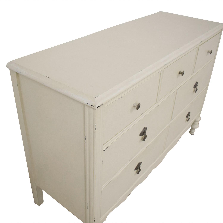 shop Restoration Hardware Lisette Wide Dresser Restoration Hardware Dressers