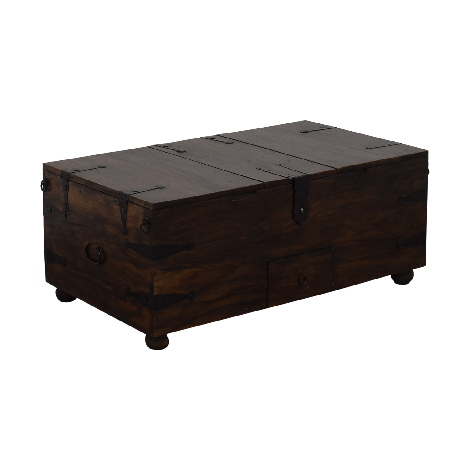 Crate & Barrel Rectangular Trunk or Coffee Table Crate & Barrel