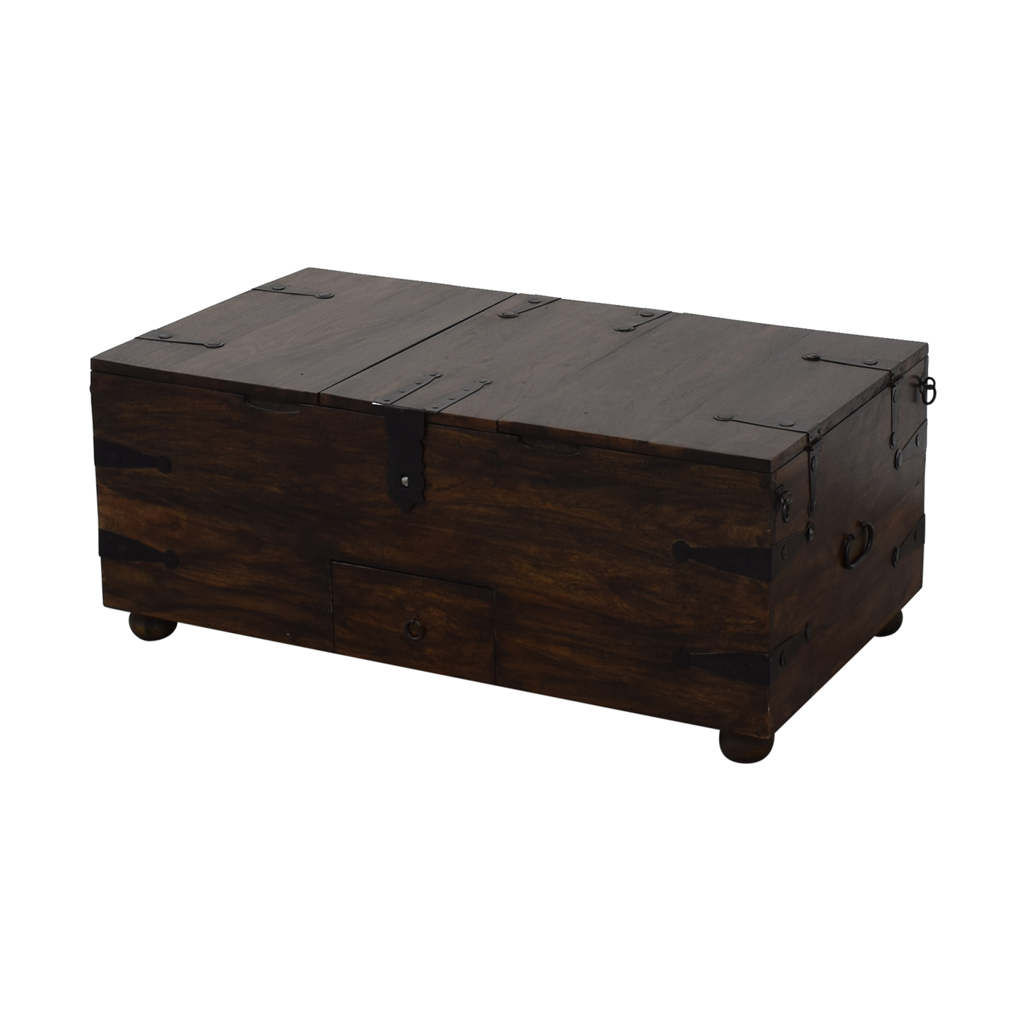Crate & Barrel Crate & Barrel Rectangular Trunk or Coffee Table discount
