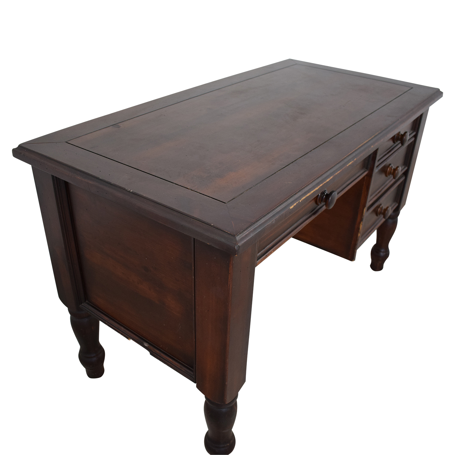 Pottery Barn Pottery Barn Desk with Three Drawers