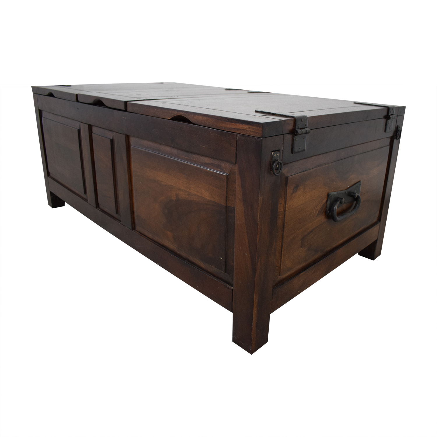 Crate & Barrel Crate & Barrel Coffee Table with Storage Coffee Tables