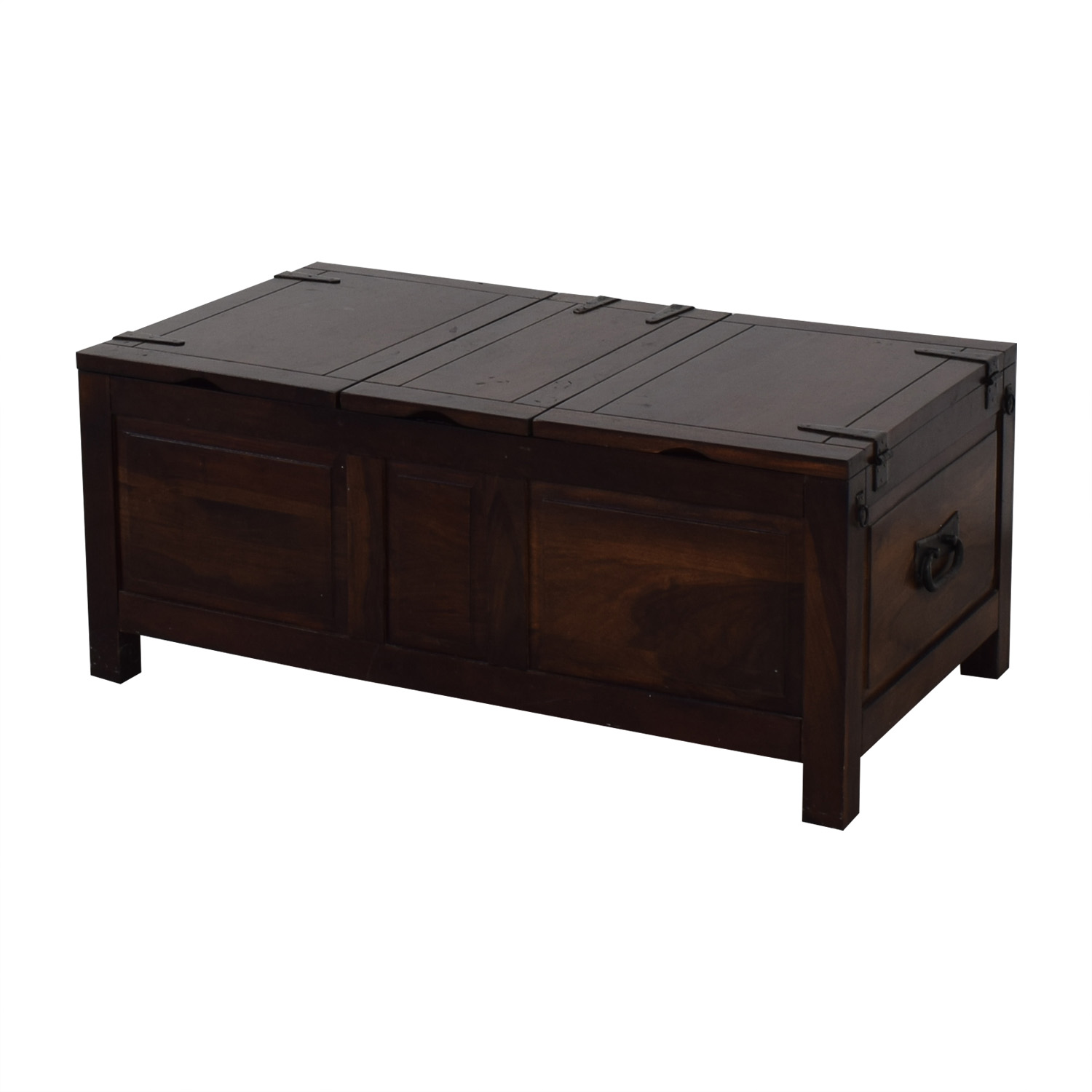 Crate & Barrel Crate & Barrel Coffee Table with Storage price