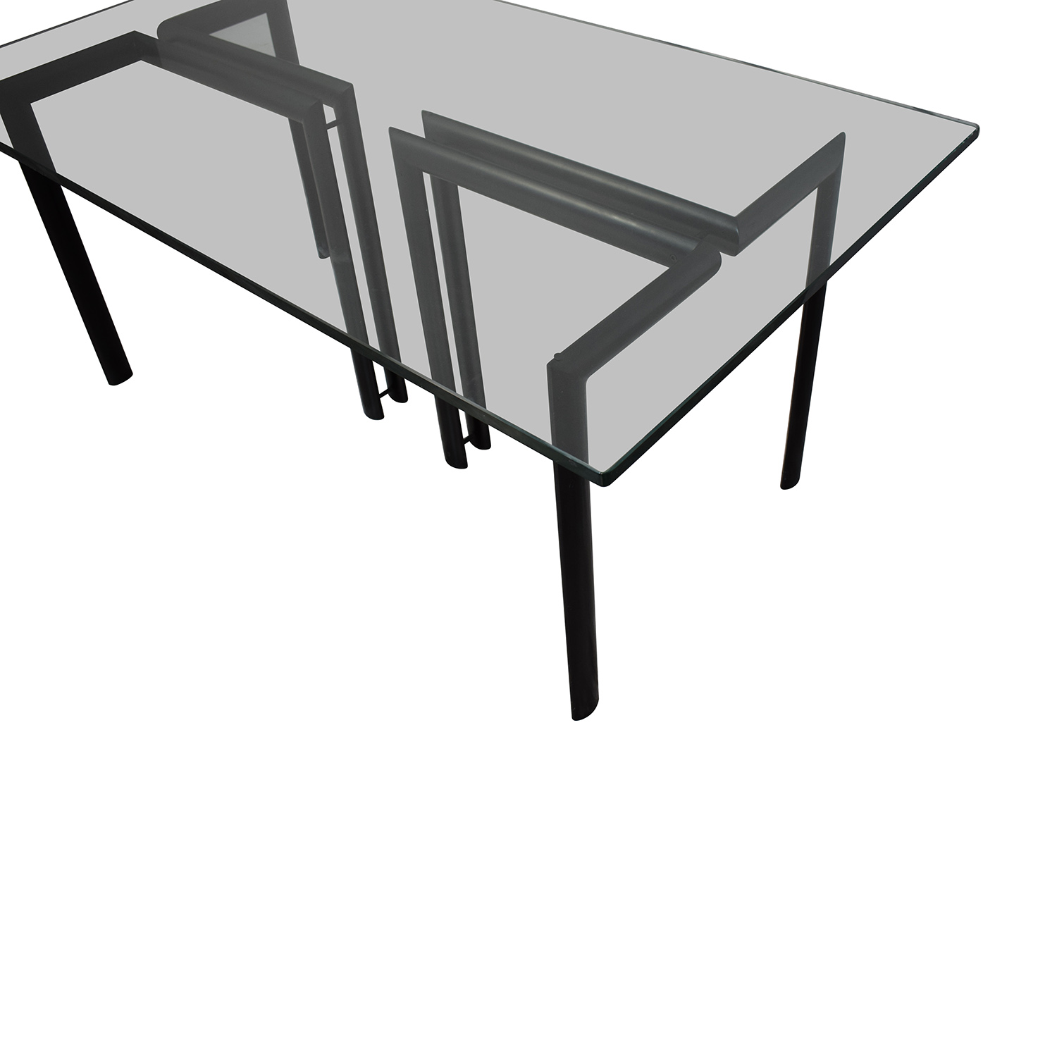 Glass Dining Room Table used